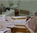 PŘED A PO: Proměna bytu rodiny Hurtových - koupelna.
