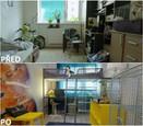 PŘED A PO: Proměna bytu rodiny Hurtových - dětský pokoj.