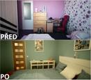 PŘED A PO: Proměna bytu Lenky a Lukáše - ložnice.